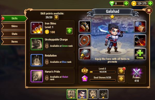 Galahad Hero Wars