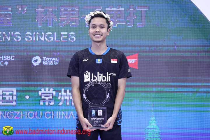 The Winner (sumber: badmintonindonesia.org)