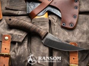 Osprey Knife and Tool K2 Raptor in bastogne walnut