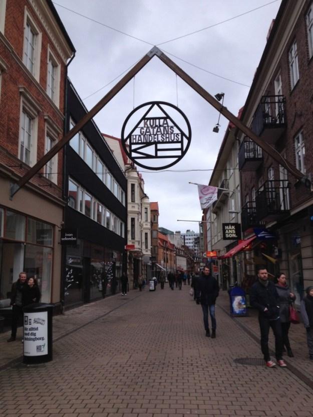 Helsingborgin ostoskatu