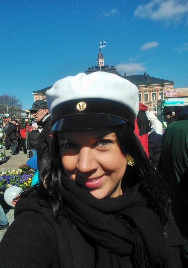 Kuopion vapputorilla 1.5.2012