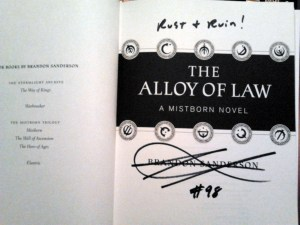 The Alloy of Law #98