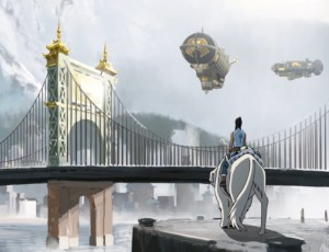 The beautiful, steampunk-esque Republic City