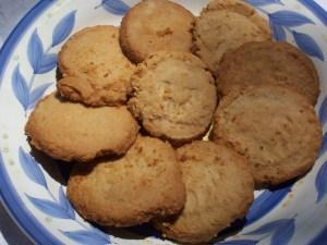 Peanut Butter Scottish Shortbread