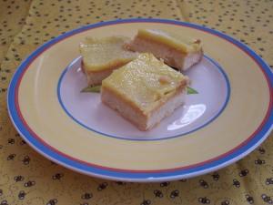 shortbread and lemon Curd