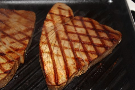 Grilled Marinated Tuna Steaks