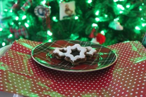 Hazelnut Linzer Tart Cookies