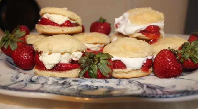 Mrs. McCarthy's Award-Winning Strawberry Scones