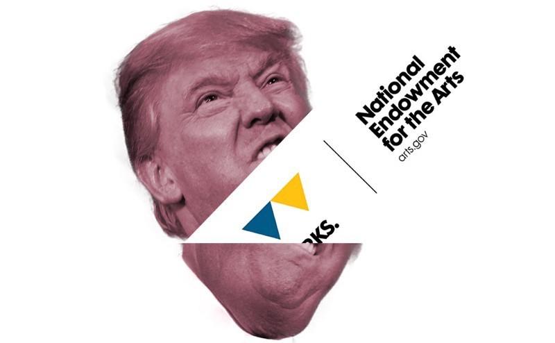 Credit / hyperallergic.com/wp-content/uploads/2017/01/Donald-Trump-NEA-bigly1000.jpg