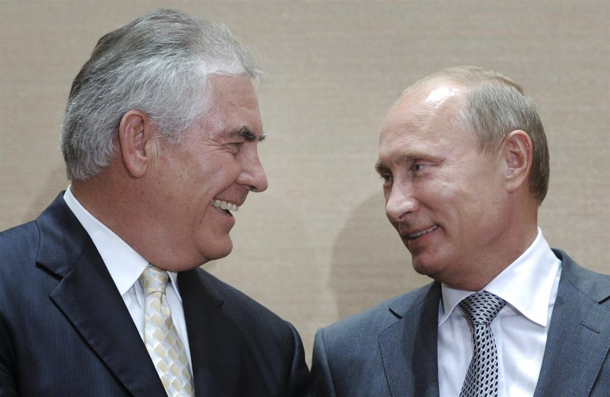 Exxon CEO (Now Secretary of State) <strong data-recalc-dims=