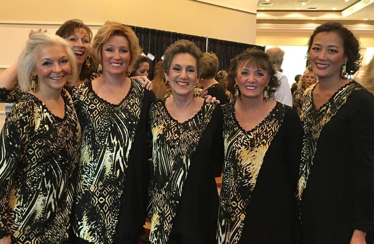 Kathie Allen (far left) is a member of <a href=