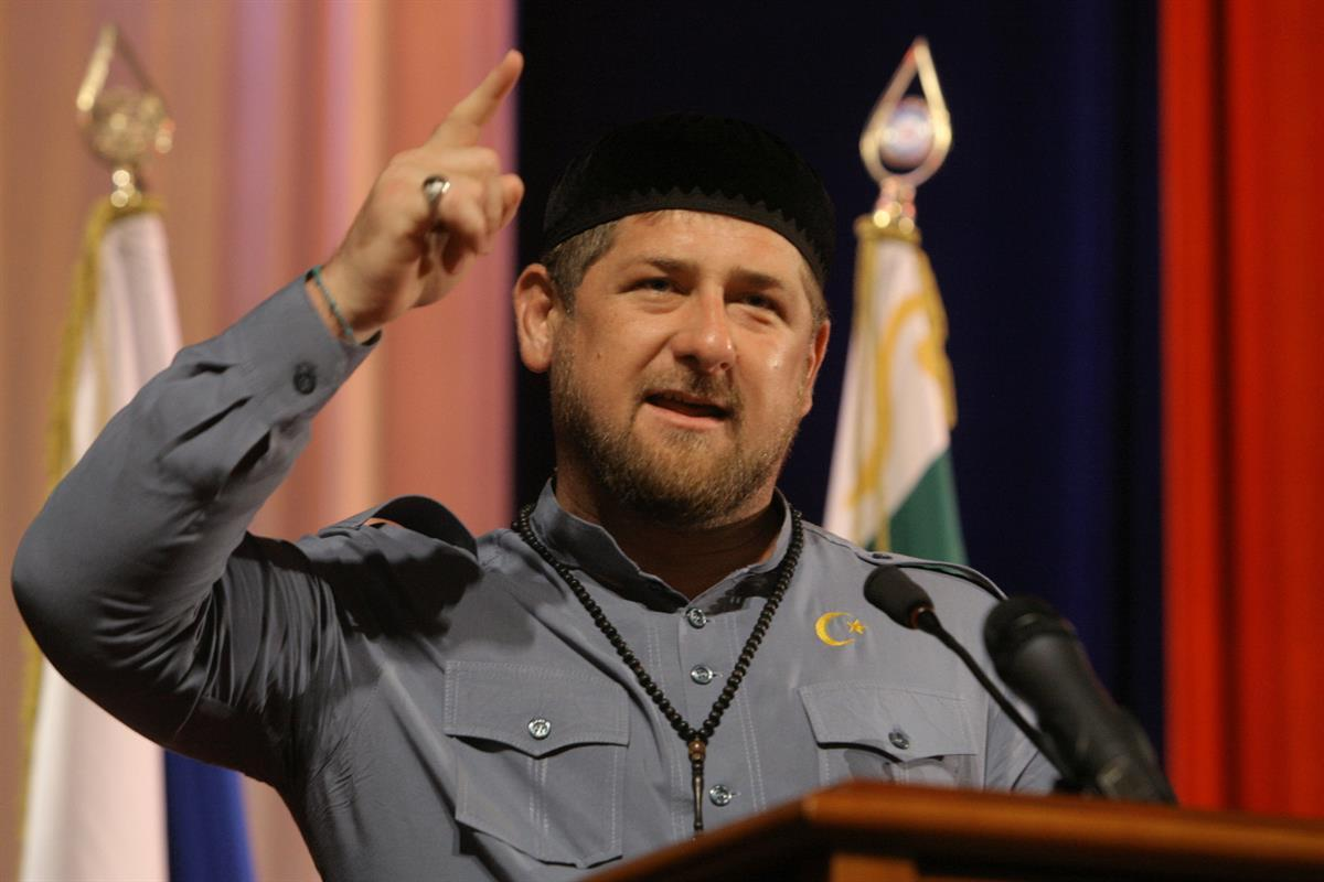 Chechnya's regional leader Ramzan Kadyrov (AP Photo/Musa Sadulayev)