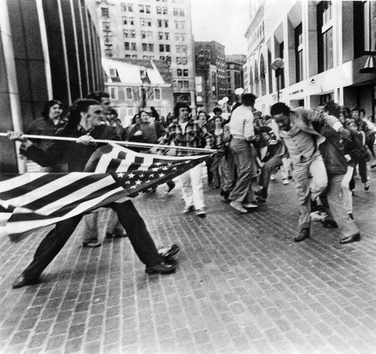 'The Soiling of Old Glory' April 5th, 1976 Boston