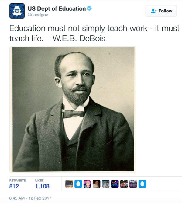 From the U.S. Dept. of Education Twitter