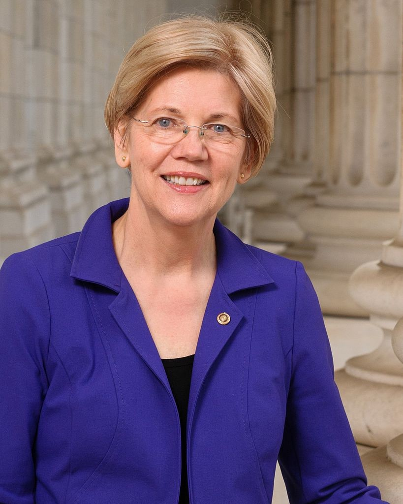 Elizabeth Warren, Democrat, Senior Senator from Massachusetts