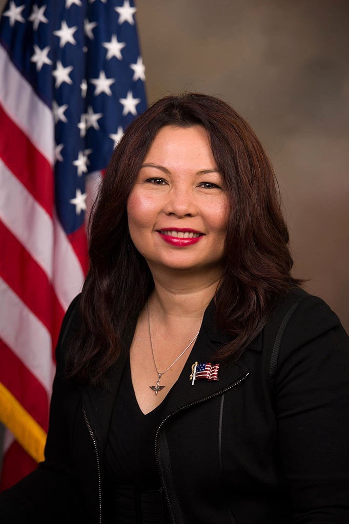 Tammy Duckworth, Democrat, Junior Senator from Illinois