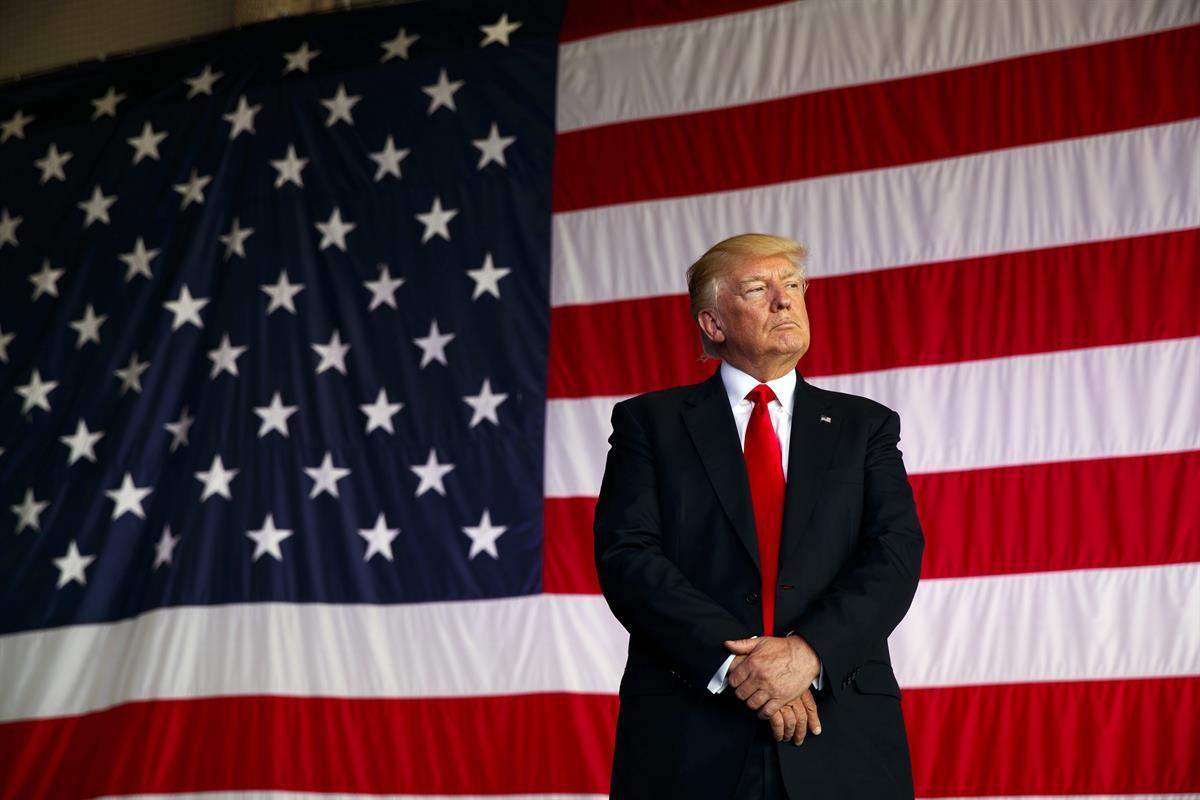 President Donald Trump (AP/EvanVucci)