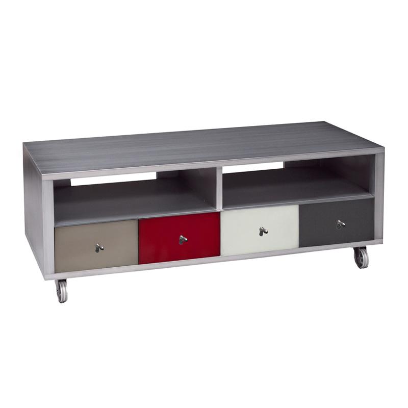 meuble tv en bois personnalisable
