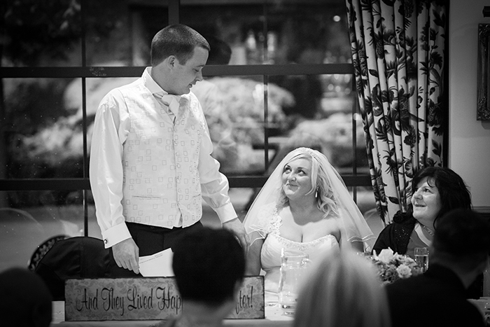 Wedding Photography - Ansty Hall  Speeches