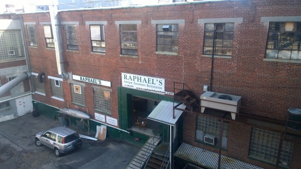 Furniture repair at Raphael's Furniture Restoration, LLC in Stamford, CT.