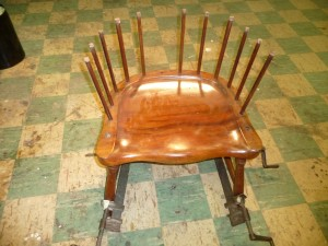 Chair Tall back Arm (8)