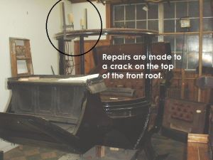 Repairs to the roof