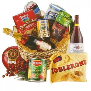A Taste of Christmas Gift Basket