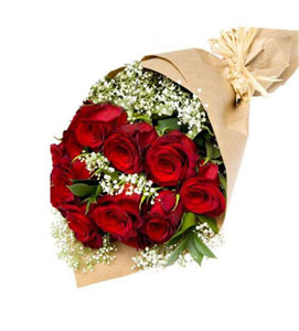 Bouquet of 12 Roses