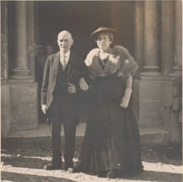 Henri Caire et Marie-Rose de Raphélis-Soissan (née Cayol) - 22 octobre 1955 Collection Mireille de Raphélis-Soissan