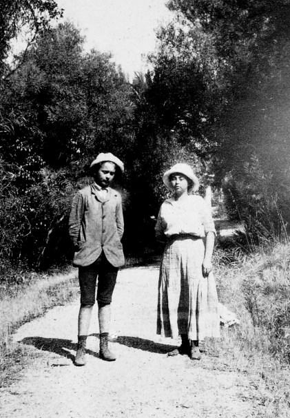 Loulou [Louis Abeille] et Germaine [Abeille]