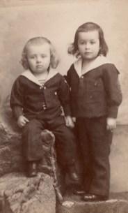 Evariste Chancel (1888-1914) et Henri Chancel (1890-1914)