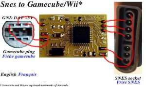 N64SnesNes controller to gamecubeWii conversion project