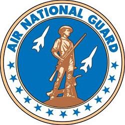 "Reid, Jerome D. ""Jerry,"" 1964-1972, Belmont Ruritan (photo Air National Guard crest)"
