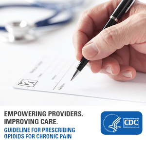 New CDC Guideline for Prescribing Opioids for Chronic Pain