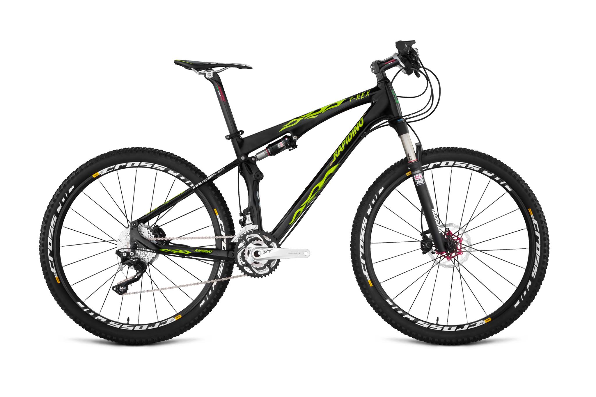Rapidino T Rex 27 5 Full Suspension Mountain Bike