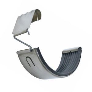 zinc half round gutter connector