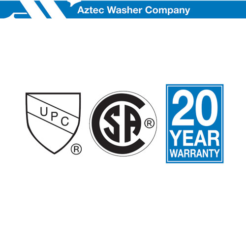 Aztec Washer Certifications