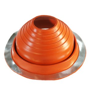 No 4 Silicone Universal Round Base Pipe Boot
