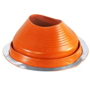 No 6 Silicone Universal Round Base Pipe Boot
