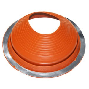 No 7 Silicone Universal Round Base Pipe Boot