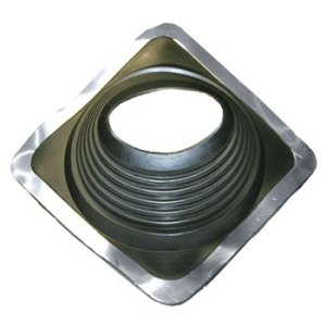No 8 EPDM Square Base Pipe Boot
