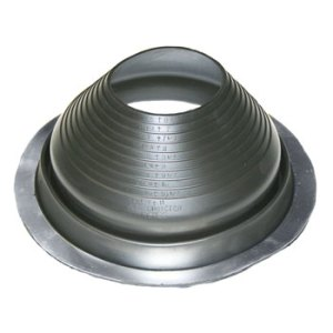 No 9 EPDM Universal Round Base Pipe Boot