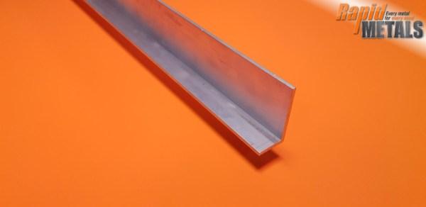 """Aluminium Angle 3"""" x 1.1/2"""" x 6.4mm"""