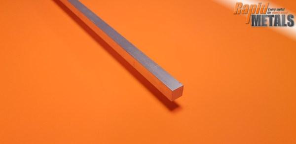 """Aluminium (6082) Square 1"""""""