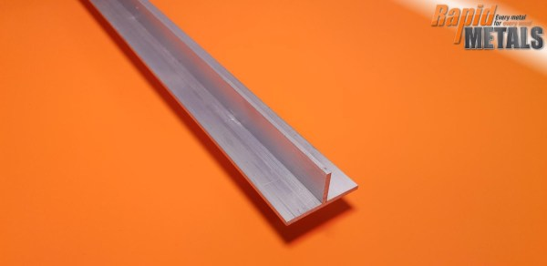 "Aluminium Tee Section 1/2"" x 1.6mm Wall"