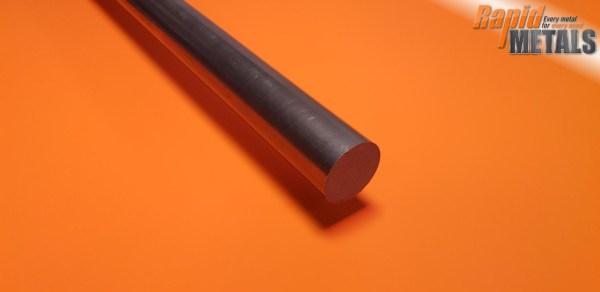 """Bright Mild Steel (080a15) 3"""" Round"""