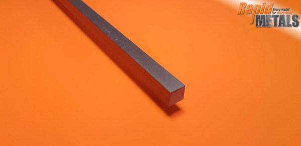 Bright Mild Steel (080a15) Square 22.2mm