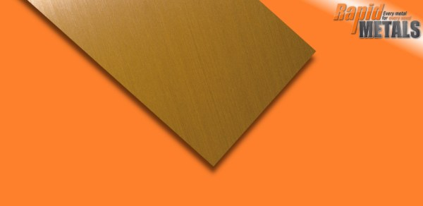 Brass Sheet 4mm
