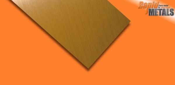 Brass Sheet 0.9mm