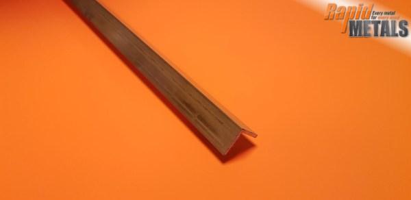Brass Angle 9.5mm x 9.5mm x 1.6mm Wall